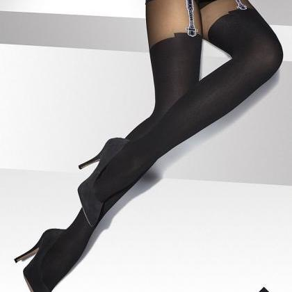 Ladies Patterned Tights-20-40 DEN S..