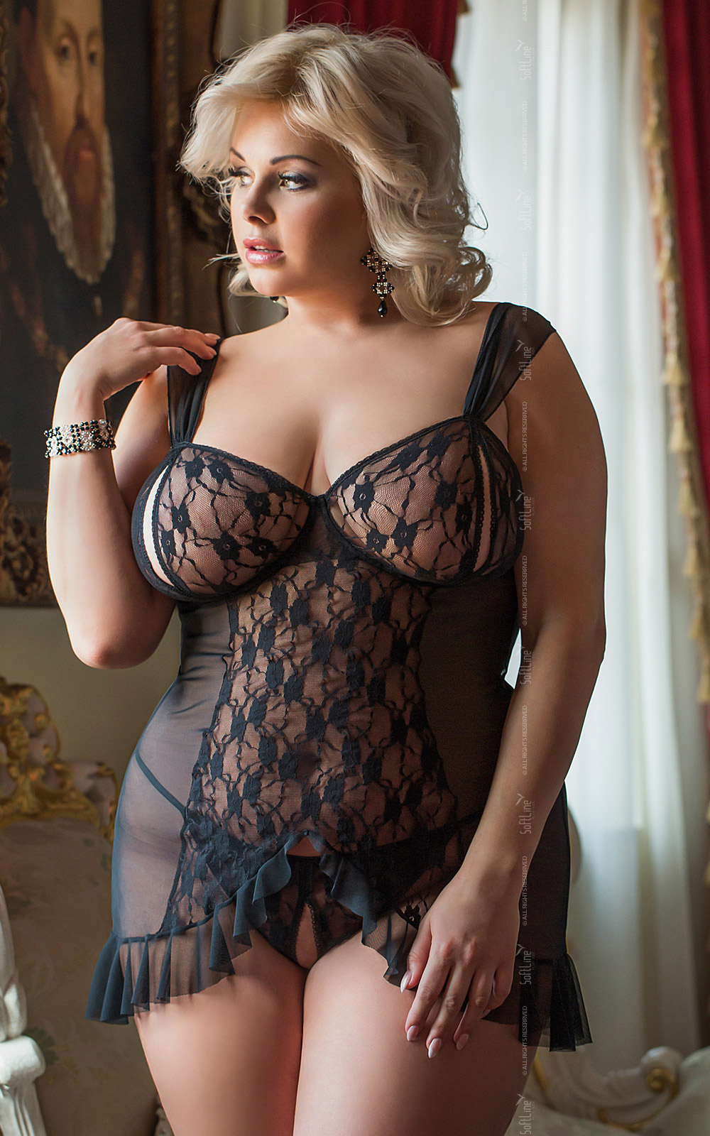 96e83cfe6 sexy erotic lingerie black chemise nightwear big plus queen size 3XL 3X XXXL  for bbw EU