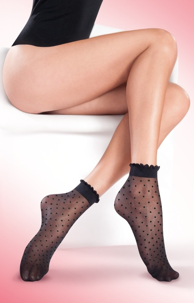 sexy patterned women's socks 20 denier black socks for women Trouser Pop Socks