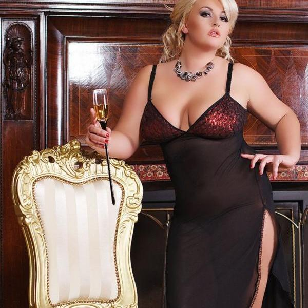 sexy lingerie Nightwear Chemise Camisole negligee big plus size XL 2XL 3XL 4XL 2X 3X 4X EU 48 50 52 54 56 uk 16 18 20 22 24 for bbw curvy